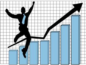 ビジネスで成功するイメージ